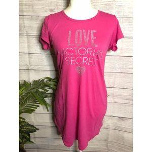Victoria's Secret | Pink Embellished Sleep Tee